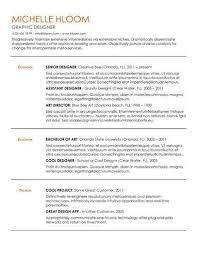 Resume Format Google Docs Custom Free Resume Template By Hloom ResumeJobInterviews