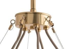 arteriors home hathoway chandelier antique brass clayton