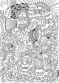 Coloring Pages For Teen Girls Dr Odd