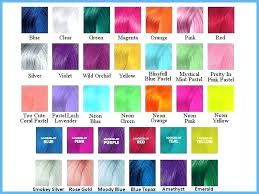 Pravana Vivids Magenta And Wild Orchid Hair Color Chart