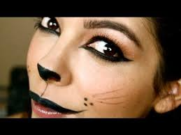 steps for cat eye and lip makeup