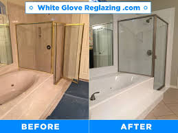 photo of white glove bathtub and tile reglazing new york ny united states