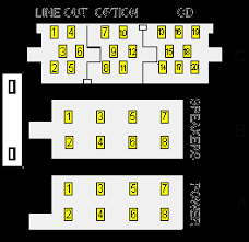 car audio iso connector pinout diagram @ pinoutguide com kenwood stereo wiring diagram color code at Car Stereo Connector Diagram