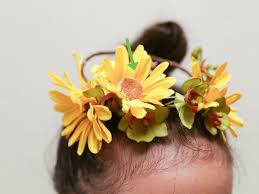 Paper Flower Headbands The Best Ways To Make A Flower Crown Wikihow