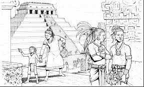 Small Picture Astounding Mayan Art Coloring Pages With Aztec And Mayan Coloring