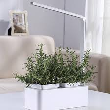 Led Herb Grow Light Indoor Hydroponics Smart Herb Garden Kit By Savvygrow