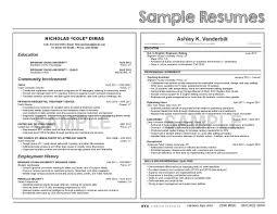 Sample University Student Resume Sample Resumes University Career Services BYU 19