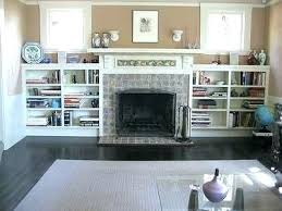 bookcases next to fireplace fireplace surround bookshelves fireplace surround with cabinets or shelves built in beside it would want darker fireplace