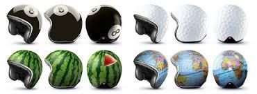 10 cool custom motorcycle helmets inc tennis ball and watermelon