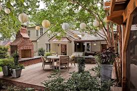 a lineup of paper lanterns does add festive cheer to the deck design bland