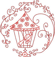 Redwork Machine Embroidery Designs Free Free Easy Redwork Pattern Free Embroidery Designs Cute