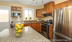 Granite Countertops Kitchener Waterloo Charming Kitchener Backsplit Rooms In Bloom Home Staging