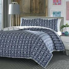 Blue And White Quilts And Coverlets Blue Quilts And Bedspreads ... & ... Blue Quilts And Coverlets Blue Quilts And Bedspreads Full Queen Navy  White Geometric Reversible Quilt Coverlet ... Adamdwight.com