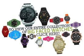 big faced watches watch supermarket large oversized faces have become a hugely popular design both men and women thanks to big powerful designs that have a massive visual impact on the