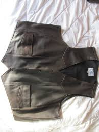 men s classic vest solid brown 150 00 shipped now 115 00 shipped