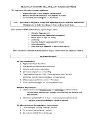002 Mla Research Paper Citation Format Model Museumlegs