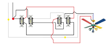 fan light wiring two switches wiring diagram for you • wire two switches ceiling fan diagram wiring library rh 51 akszer eu ceiling fan light wiring diagram two switches wiring fan light two wall