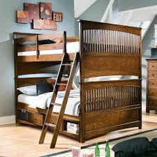 ... Large Size Stunning Adult Size Bunk Beds With Full Over Design Wooden  Frame Stairs Complete Storages ...