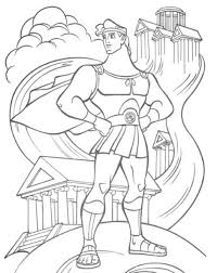 Greek Gods And Goddesses Adult Coloring