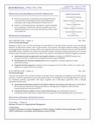 Purchase Resume Format Procurement Specialist Yralaska Com