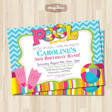 pool party engagement invitations features party dress pool party contemporary pool party invitation template