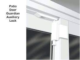 patio door lock bar unavailable auxiliary lock sliding glass door guardian remove patio door lock barrel