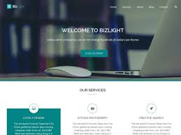 30 business wordpress themes listed only the best bizlight