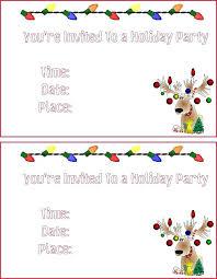 Printable Christmas Flyers Free Printable Holiday Invitations Free Printable Holiday Gift Tags