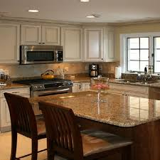 use granite countertops for your kitchen island architectural stone works
