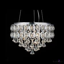 glittering clear crystal strands and diamonds stainless steel drum shade large pendant takeluckhome com