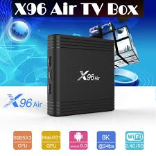 X96 Air Smart TV Box Android9.0 Amlogic S905X3 Quad Core 4GB 32GB 64GB  2.4G&5.0G WIIF BT4.0 1000M 8K HD Set top box TV Netflix - buy at the price  of $27.68 in