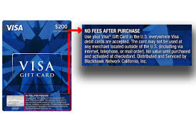 Any online or brick and mortar store that accepts visa debit cards, which is most of them do, will also accept visa gift card. Warning 3 Big Problems With Visa Gift Cards Clark Howard