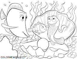 Bruce From Finding Nemo Coloring Pages
