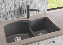 blanco diamond sink. BLANCO DIAMOND™ U 1-3/4 SILGRANIT® Low Divide Blanco Diamond Sink 3