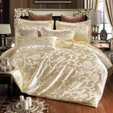 new jacquard bedlinen queen king size duvet cover set silk bedding sets luxury chinese wedding cream colored king size duvet pretty comforter sets from