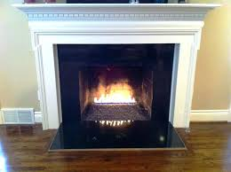 venting gas fireplace on inside wall inserts insert log installing vented logs with remote
