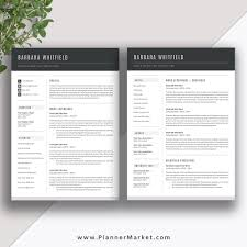 Art Resume Template Custom This Resume Template With Matching Cover Letter Template From