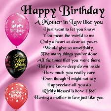 Happy Birthday Mother In Law Quotes. QuotesGram via Relatably.com