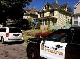 Man shot at St. Paul house; police chief, out on patrol, responds