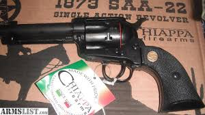 puma 1873 22. chiappa revolver, model 1873-22 lr22 six shooter with wood grips. new in box. fun to shoot pistols at a great price. puma 1873 22 h