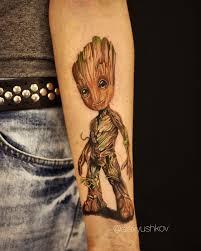 Baby Groot Familytattoocollective Groot Babygroot Groottattoo