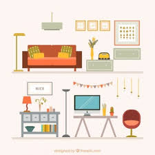 isometric office furniture vector collection. Home Furniture Collection Isometric Office Vector A