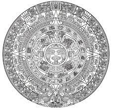 Mayan Calendar Pic Calendario Azteca Aztec Calendar Aztec