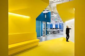Microsoft offices design Center Microsoft Canada Excellence Centre Clive Wilkinson Architects Clive Wilkinson Architects Microsoft Canada Excellence Centre