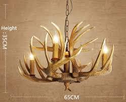 antique deer antler chandeliers for