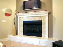 black tile fireplace electric fireplace mantels ebony wall black black glass tile fireplace surround