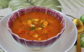 Receta De Sopa Siciliana De Pescado