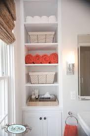 built in bathroom wall storage.  Bathroom These Shelves Would Look Good Too In Built Bathroom Wall Storage O