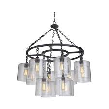 chandelier light fixtures. Mariana Home - Olaf Twelve Light Pendant Bronze Finish Farmhouse Industrial 261273 Chandelier Fixtures G