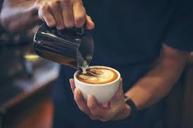 Barista making coffee with waiter. Cafe Barista Images Free Vectors Stock Photos Psd